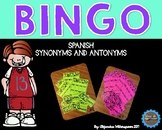 Spanish Synonyms and Antonyms BIngo/Bingo de sinónimos y antónimos