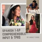 Spanish TPR Stories and Comprehensible Input Mega Bundle f