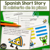 TPRS Spanish short story using high frequency verbs about food