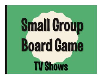 Spanish TV Shows Board Game