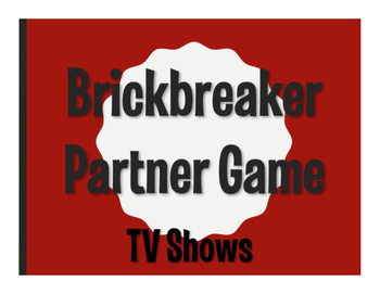 Spanish TV Shows Brickbreaker Game