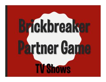 Spanish TV Shows Brickbreaker Game