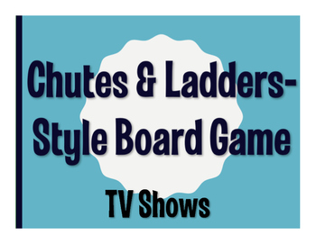 Spanish TV Shows Chutes and Ladders-Style Game