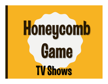 Spanish TV Shows Honeycomb Game