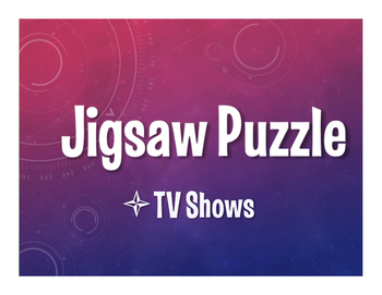 Spanish TV Shows Jigsaw Puzzle