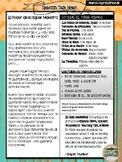 Spanish Talk Newsletter March/April 2018 Edition +Freebies