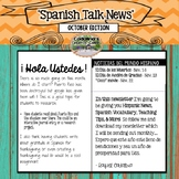 Spanish Talk Newsletter November Edition Cadalina's Creati