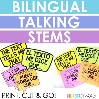 Spanish Talking Stems - Air Bubbles!