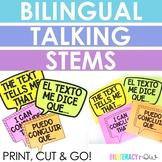 Spanish & English Talking Stems - Air Bubbles! 15 Bilingua