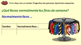 Spanish Talking about clothes & colors Module 9 Lesson 4