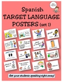 Spanish Target Language Posters - Set 1