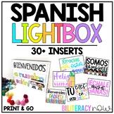 Spanish Lightbox INSERTS - Unique Designs