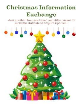 Spanish Task-Based Activities - ¿Quién tiene el espíritu más navideño?