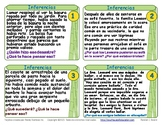 Spanish Task Card Bundle - 308 Cards! Inference, Context C