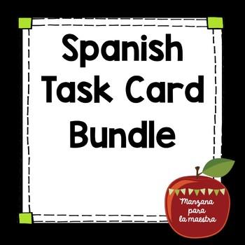 Spanish Task Cards Bundle