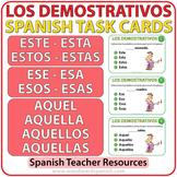 Spanish Task Cards - Demonstratives - Demostrativos