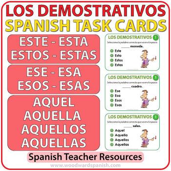 Spanish Task Cards - Este, ... by Woodward Education | Teachers ...