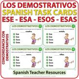 Spanish Task Cards - Ese, Esa, Esos, Esas