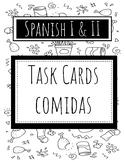 Spanish Task Cards - Foods / Comida
