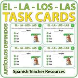 Spanish Task Cards - Los Artículos Definidos