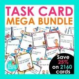 Spanish Task Cards MEGA Bundle | Spanish Review Activity