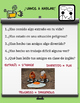 Spanish Task Cards Present Perfect Verbs with worksheets *