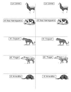 Spanish Task Cards Present Perfect Verbs with worksheets * Verbos en Español