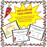 Spanish Task Cards for Ser and Estar
