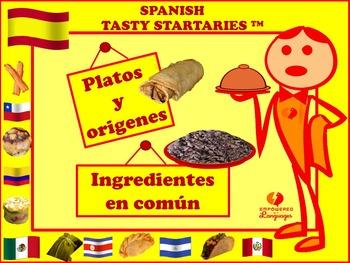 Spanish Tasty Startaries™: Platos y orígenes, Ingredientes en común