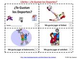 Spanish Te Gustan Los Deportes Booklet - Spanish Sports