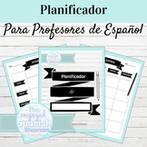 Spanish Teacher Planner