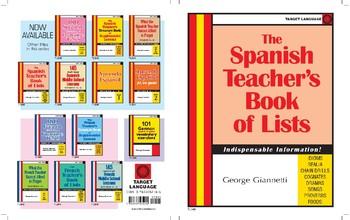 Spanish Teacher's Book of Lists