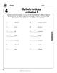 Spanish Teacher's Handbook: Definite Articles