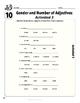 Spanish Teacher's Handbook: Gender & Number of Adjectives