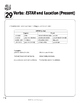 "Spanish Teacher's Handbook: The Verb ""estar"" and Location (Present)"