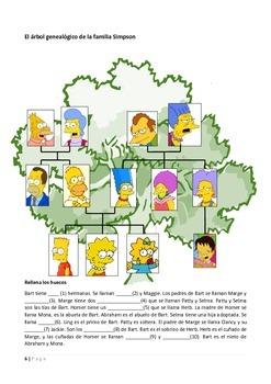 Spanish: La familia y los amigos - Teaching family