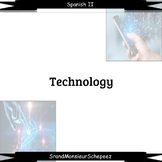 Spanish Technology Video Note Bundle (Distance Learning)