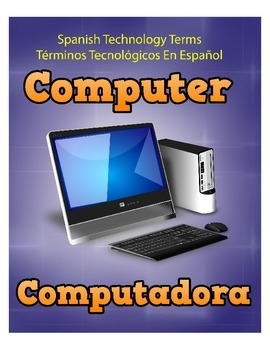 Spanish Techonology Terms - 19 Posters