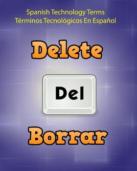 Spanish Techonology Term - Delete