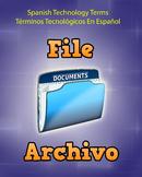 Spanish Techonology Term - File