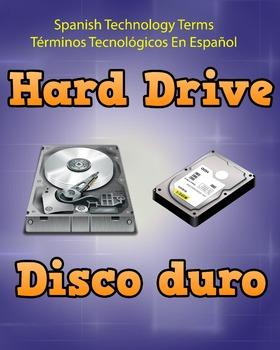 Spanish Techonology Term - Hard Drive