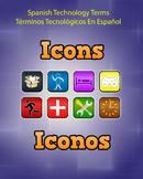 Spanish Techonology Term - Icons