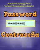 Spanish Techonology Term - Password