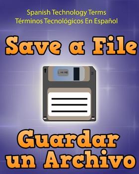 Spanish Techonology Term - Save