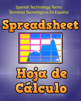 Spanish Techonology Term - Spreadsheet