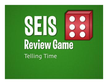 Spanish Telling Time Seis Game