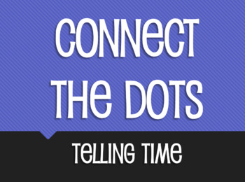 Spanish Telling Time Connect the Dots