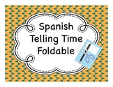 Spanish Telling Time Fold-It