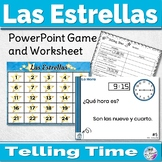 Spanish Time Game Las Estrellas With Worksheet