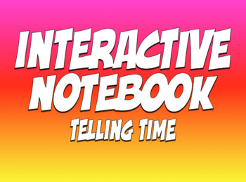 Spanish Telling Time Interactive Notebook